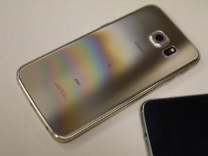 Galaxy S6 edge裏面
