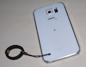 Galaxy S6にケース装着 (2)